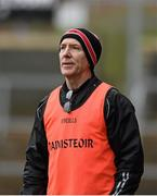 17 January 2016; Derry manager Damian Barton. Bank of Ireland Dr McKenna Cup, Semi-Final, Cavan v Derry. Athletic Grounds, Armagh. Picture credit: Philip Fitzpatrick / SPORTSFILE