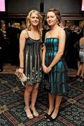 7 November 2009; Nominees Niamh Mulcahy, Limerick, left, and Claire Grogan, Tipperary, the 2009 Camogie All-Stars Awards, in association with O'Neills. Citywest Hotel, Conference, Leisure & Golf Resort, Dublin. Picture credit: Pat Murphy / SPORTSFILE