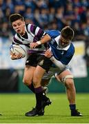 24 January 2016; Mark Fabian, Terenure College, is tackled by Ronan Foley, St Mary's College. Bank of Ireland Leinster Schools Senior Cup, 1st Round, St Mary's College v Terenure College, Donnybrook Stadium, Donnybrook, Dublin. Picture credit: Dáire Brennan / SPORTSFILE