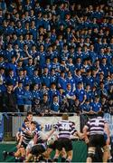 24 January 2016; St Mary's College supporters watching the action. Bank of Ireland Leinster Schools Senior Cup, 1st Round, St Mary's College v Terenure College, Donnybrook Stadium, Donnybrook, Dublin. Picture credit: Dáire Brennan / SPORTSFILE