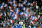14 November 2009; France manager Raymond Domenech, looks on during the game. FIFA 2010 World Cup Qualifying Play-off 1st Leg, Republic of Ireland v France, Croke Park, Dublin. Picture credit: David Maher / SPORTSFILE