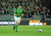 14 November 2009; John O'Shea, Republic of Ireland. FIFA 2010 World Cup Qualifying Play-off 1st Leg, Republic of Ireland v France, Croke Park, Dublin. Picture credit: Paul Mohan / SPORTSFILE