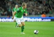 14 November 2009; Liam Lawrence, Republic of Ireland. FIFA 2010 World Cup Qualifying Play-off 1st Leg, Republic of Ireland v France, Croke Park, Dublin. Picture credit: Paul Mohan / SPORTSFILE