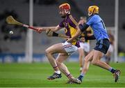 30 January 2016; Andrew Shore, Wexford, in action against Eamonn Dillion, Dublin. Bord na Mona Walsh Cup Final, Dublin v Wexford, Croke Park, Dublin. Picture credit: Ray McManus / SPORTSFILE