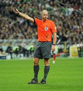 18 November 2009; Referee Martin Hansson. FIFA 2010 World Cup Qualifying Play-off 2nd Leg, Republic of Ireland v France, Stade de France, Saint-Denis, Paris, France. Picture credit: Stephen McCarthy / SPORTSFILE