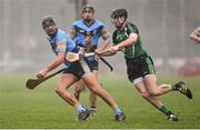 4 February 2016; Conor O'Shea, University College Dublin, in action against Diarmaid Byrnes, Limerick Institute Technology. Independent.ie HE GAA Fitzgibbon Cup Group A, Round 2, Limerick Institute Technology v University College Dublin. LIT, Limerick. Picture credit: Diarmuid Greene / SPORTSFILE