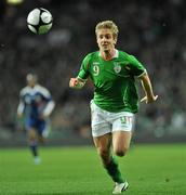 14 November 2009; Kevin Doyle, Republic of Ireland. FIFA 2010 World Cup Qualifying Play-off first Leg, Republic of Ireland v France, Croke Park, Dublin. Picture credit: David Maher / SPORTSFILE
