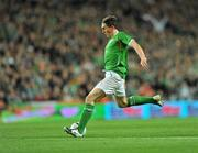 14 November 2009; Keith Andrews, Republic of Ireland. FIFA 2010 World Cup Qualifying Play-off first Leg, Republic of Ireland v France, Croke Park, Dublin. Picture credit: David Maher / SPORTSFILE