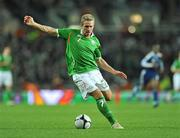 14 November 2009; Liam Lawrence, Republic of Ireland. FIFA 2010 World Cup Qualifying Play-off 1st Leg, Republic of Ireland v France, Croke Park, Dublin. Picture credit: David Maher / SPORTSFILE