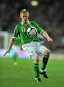 14 November 2009; Damien Duff, Republic of Ireland. FIFA 2010 World Cup Qualifying Play-off first Leg, Republic of Ireland v France, Croke Park, Dublin. Picture credit: David Maher / SPORTSFILE