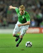 14 November 2009; Damien Duff, Republic of Ireland. FIFA 2010 World Cup Qualifying Play-off 1st Leg, Republic of Ireland v France, Croke Park, Dublin. Picture credit: David Maher / SPORTSFILE