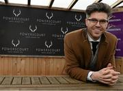 6 February 2016; TV Presenter & Style Entrepreneur Darren Kennedy. Powerscourt Hotel Resort & Spa was delighted to partner with Irish Gold Cup Day at Leopardstown on February 6th 2016, one of the most prestigious and glamorous race days in the National Hunt Season. The overalll prize for Most Stylish Lady included a luxurious night's stay in the palatial Powerscourt Hotel's Presidential suite,, Dinner for two in Powerscourt Hotel's newly refurbished Sika restaurant, 2 treatments in the award winning ESPA and one year membership of Powerscourt's Leisure Club, which boasts a Swarovski crystal lit swimming pool and gym and access to the ESPA Facilities. Horse Racing from Leopardstown. Leopardstown, Co. Dublin. Picture credit: Cody Glenn / SPORTSFILE