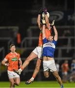 6 February 2016; Stefan Campbell, Armagh, in action against Gareth Dillon, Laois. Allianz Football League, Division 2, Round 2, Armagh v Laois. Athletic Grounds, Armagh. Picture credit: Oliver McVeigh / SPORTSFILE