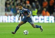 14 November 2009; Patrice Evra, France. FIFA 2010 World Cup Qualifying Play-off 1st Leg, Republic of Ireland v France, Croke Park, Dublin. Picture credit: Stephen McCarthy / SPORTSFILE