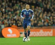 14 November 2009; Thierry Henry, France. FIFA 2010 World Cup Qualifying Play-off 1st Leg, Republic of Ireland v France, Croke Park, Dublin. Picture credit: Stephen McCarthy / SPORTSFILE