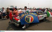 28 June 1994; Italian soccer fan, World Cup USA. Picture credit; David Maher/SPORTSFILE