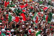 28 June 1994; Mexican soccer fans, World Cup USA. Picture credit; David Maher/SPORTSFILE