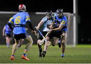 9 February 2016; Conor O'Shea, University College Dublin, in action against Eoin Kenny, Maynooth University. Independent.ie HE GAA Fitzgibbon Cup, Group A, Round 3, University College Dublin v Maynooth University. UCD, Belfield, Dublin. Picture credit: Sam Barnes / SPORTSFILE
