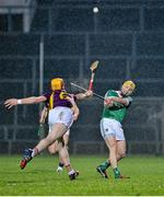 13 February 2016; Paul Browne, Limerick, in action against Andrew Shore, Wexford. Allianz Hurling League, Division 1B, Round 1, Limerick v Wexford. Gaelic Grounds, Limerick. Picture credit: Sam Barnes / SPORTSFILE