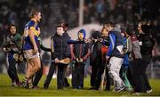 13 February 2016; Noel McGrath, Tipperary, who was last to leave the field some eleven minutes after the final whistle. He had spent the time shaking hands with well wishers, posing for selfies and photographs. Allianz Hurling League, Division 1A, Round 1, Tipperary v Dublin. Semple Stadium, Thurles, Co. Tipperary. Picture credit: Ray McManus / SPORTSFILE