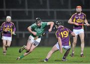 13 February 2016; Diarmaid Byrne, Limerick, in action against Eoin Moore, Wexford. Allianz Hurling League, Division 1B, Round 1, Limerick v Wexford. Gaelic Grounds, Limerick. Picture credit: Sam Barnes / SPORTSFILE