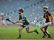 13 February 2016; Graeme Mulcahy, Limerick, in action against James Breen, Wexford. Allianz Hurling League, Division 1B, Round 1, Limerick v Wexford. Gaelic Grounds, Limerick. Picture credit: Sam Barnes / SPORTSFILE