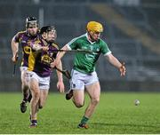 13 February 2016; Paul Browne, Limerick, in action against Lee Chin, Wexford. Allianz Hurling League, Division 1B, Round 1, Limerick v Wexford. Gaelic Grounds, Limerick. Picture credit: Sam Barnes / SPORTSFILE