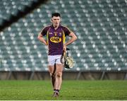 13 February 2016; Harry Kehoe, Wexford, dejected after the game. Allianz Hurling League, Division 1B, Round 1, Limerick v Wexford. Gaelic Grounds, Limerick. Picture credit: Sam Barnes / SPORTSFILE