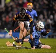13 February 2016; Shane Barrett, Dublin, in action against Conor Kenny, Tipperary. Allianz Hurling League, Division 1A, Round 1, Tipperary v Dublin. Semple Stadium, Thurles, Co. Tipperary. Picture credit: Ray McManus / SPORTSFILE
