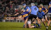 13 February 2016; Conor Kenny, Tipperary, in action against Eoghan O'Donnell, Dublin. Allianz Hurling League, Division 1A, Round 1, Tipperary v Dublin. Semple Stadium, Thurles, Co. Tipperary. Picture credit: Ray McManus / SPORTSFILE