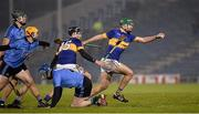 13 February 2016; Noel McGrath, Tipperary, bursts through the Dublin defence. Allianz Hurling League, Division 1A, Round 1, Tipperary v Dublin. Semple Stadium, Thurles, Co. Tipperary. Picture credit: Ray McManus / SPORTSFILE