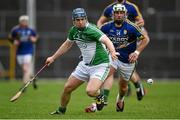 21 February 2016; Richie McCarthy, Limerick, in action against Mikey Boyle, Kerry. Allianz Hurling League, Division 1B, Round 2, Kerry v Limerick, Fitzgerald Stadium, Killarney, Co. Kerry. Picture credit: Brendan Moran / SPORTSFILE