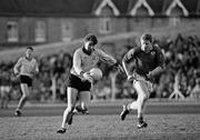 4 December 1988; Charlie Redmond, Dublin, in action against Meath. Royal Liver National Football League, Round 3, Meath v Dublin, Pairc Tailteann, Navan, Co. Meath. Picture credit: Ray McManus / SPORTSFILE