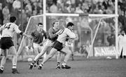 4 December 1988; Vinny Murphy, Dublin, in action against Martin O'Connell, Meath. Royal Liver National Football League, Round 3, Meath v Dublin, Pairc Tailteann, Navan, Co. Meath. Picture credit: Ray McManus / SPORTSFILE