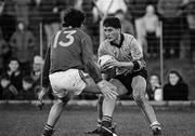 4 December 1988; Mick Galvin, Dublin, in action against Gerry Martyn, Meath. Royal Liver National Football League, Round 3, Meath v Dublin, Pairc Tailteann, Navan, Co. Meath. Picture credit: Ray McManus / SPORTSFILE