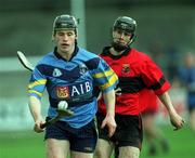 6 April 2001; Pat Fitzgerald of UCD during the Fitzgibbon Cup Final match between UCD and UCC at Parnell Park in Dublin. Photo by Damien Eagers/Sportsfile