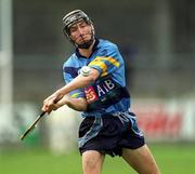 6 April 2001; Redmond Barry of UCD during the Fitzgibbon Cup Final match between UCD and UCC at Parnell Park in Dublin. Photo by Damien Eagers/Sportsfile