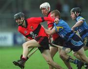6 April 2001; Richie Flannery of UCC during the Fitzgibbon Cup Final match between UCD and UCC at Parnell Park in Dublin. Photo by Damien Eagers/Sportsfile