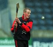 6 April 2001; Richie O'Neill of UCC during the Fitzgibbon Cup Final match between UCD and UCC at Parnell Park in Dublin. Photo by Damien Eagers/Sportsfile