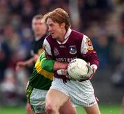 15 April 2001; Lorcan Colleran of Galway during the Allianz GAA National Football League Division 1A match between Galway and Kerry at Tuam Stadium in Tuam, Galway. Photo by Brendan Moran/Sportsfile