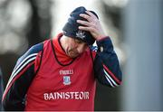 28 February 2016; Cork manager Peadar Healy reacts during the second half. Allianz Football League, Division 1, Round 3, Cork v Roscommon. Páirc Uí Rinn, Cork. Picture credit: Diarmuid Greene / SPORTSFILE