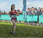 5 March 2016; Meghan Carr, Loreto Fermoy, competing in the minor girls 2000m at the GloHealth All-Ireland Schools and Irish Universities Cross Country Championships. Showgrounds, Sligo. Picture credit: Sam Barnes / SPORTSFILE