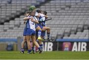 6 March 2016; Milford players celebrate after the game. AIB All-Ireland Senior Camogie Club Championship Final 2015, Milford v Killimor. Croke Park, Dublin. Picture credit: Piaras Ó Mídheach / SPORTSFILE