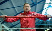 9 March 2016; Boxer Katie Taylor poses for a portrait before an IABA High Performance Squad training session. National Boxing Stadium, Dublin. Picture credit: Cody Glenn / SPORTSFILE