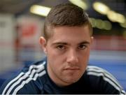 9 March 2016; Boxer Joe Ward poses for a portrait before an IABA High Performance Squad training session. National Boxing Stadium, Dublin. Picture credit: Cody Glenn / SPORTSFILE