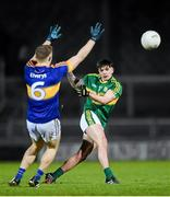 9 March 2016; Micheál Burns, Kerry, in action against Kevin Fahey, Tipperary. EirGrid Munster GAA Football U21 Championship, Quarter-Final, Kerry v Tipperary. Austin Stack Park, Tralee, Co. Kerry. Picture credit: Stephen McCarthy / SPORTSFILE