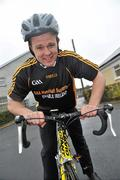 23 February 2010; The All-Ireland winning Kilkenny hurling squad, along with past players, and Ireland's top handballers, are preparing to don a jersey of a different nature on Saturday the 6th of March - taking to the roads of Kilkenny for a thirteen stage cycle around Kilkenny City to raise money for Enable Ireland. The Cats pedalling line up includes current stars such as Henry Shefflin and Tommy Walsh, as well as former giants of the game DJ Carey, Joe Hennessy and Noel Skehan. The event has been organised by Kilkenny handball legend Michael 'Ducksy' Walsh, who amassed and incredible 38 All-Ireland senior titles. Still playing at the top levels of the sport, Ducksy now dedicates much of his time to charity fundraising. The event is also being supported by the GAA and by the Irish Handball Council. At the announcement of the final route for the cycle is Hurling All-Star of the Year Kilkenny's Tommy Walsh. Enable Ireland, O'Neill Centre, St. Joseph's Road, Kilkenny. Picture credit: Brian Lawless / SPORTSFILE