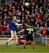 13 March 2016; Colm Cooper, Kerry in action against Ger Cafferkey, Mayo. Allianz Football League, Division 1, Round 5, Mayo v Kerry. Elverys MacHale Park, Castlebar, Co. Mayo. Picture credit: Ray McManus / SPORTSFILE