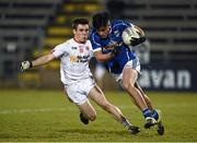 16 March 2016; Barry Fortune, Cavan, in action against Sean Fox, Tyrone. EirGrid Ulster GAA Football U21 Championship, Quarter-Final, Cavan v Tyrone, Kingspan Breffni Park, Cavan. Picture credit: Oliver McVeigh / SPORTSFILE