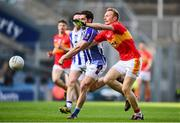 17 March 2016; Richie Feeney, Castlebar Mitchels, is tackled by Bob Dwan, Ballyboden St Endas. AIB GAA Football All-Ireland Senior Club Championship Final, Ballyboden St Endas, Dublin, v Castlebar Mitchels, Mayo. Croke Park, Dublin. Picture credit: Ramsey Cardy / SPORTSFILE